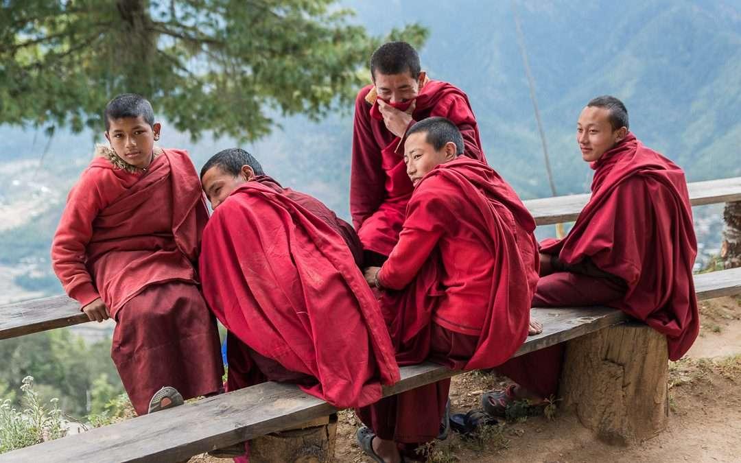 5 Monks on a Break
