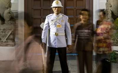 Thailand Palace Guard