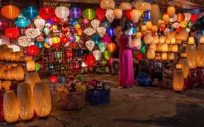 Paper Lanterns of Vietnam